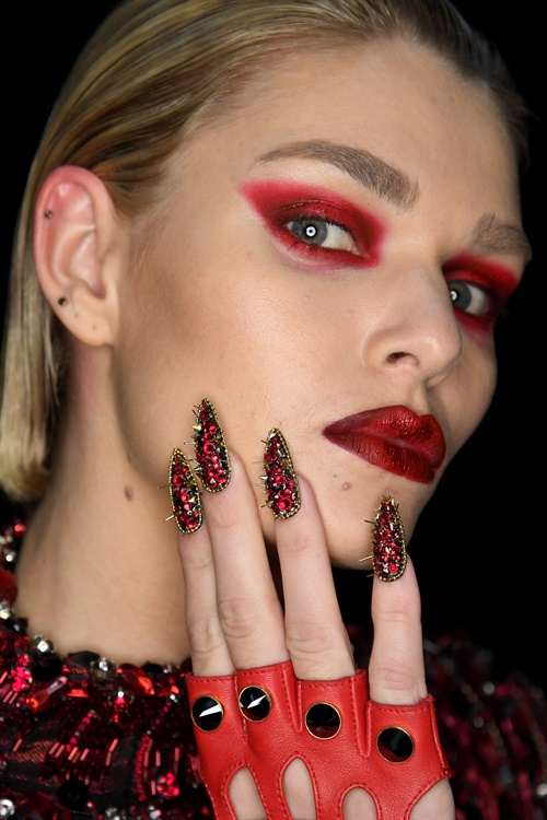 <p>CND for The Blonds. Courtesy of CND.</p>