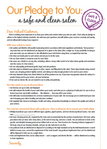 "<p>You can download and print a copy of this handout at <a href=""http://www.nailsmag.com/pledge"">www.nailsmag.com/pledge</a>. </p>"