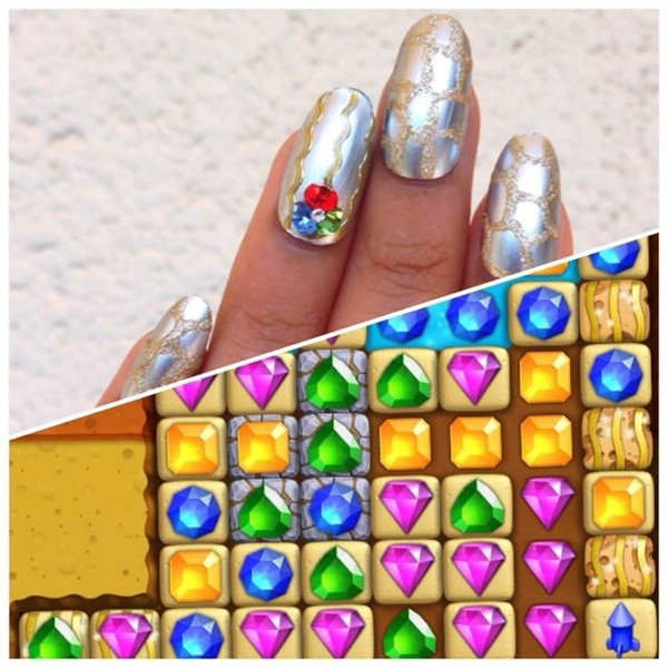 Nail Art Game: Video Game-Inspired Nail Art Services
