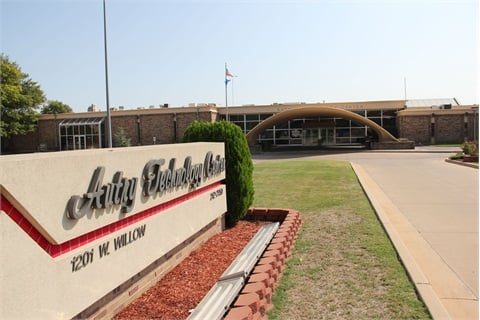 The Enid campus spans several buildings.