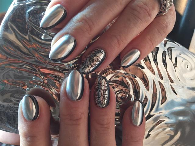 Day 117: Chrome Nail Art - - NAILS Magazine