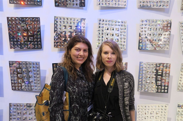 <p>Executive editor Beth (left) and assistant editor Katherine Fleming (right)</p>
