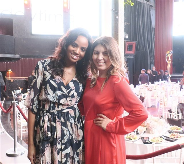 <p>Co-presenters Meagan Tandy and Beth Livesay</p>