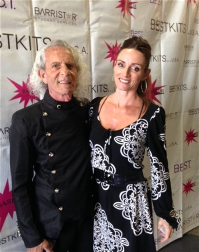 <p>Barristar's Paul Barry and daughter Heather Chaffin</p>