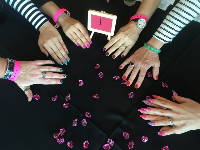 Nailfie with my group during ANP's Tech Talk