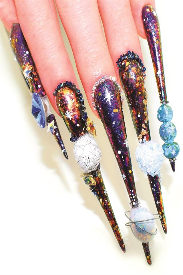 12 Nail Art Designs That Celebrate NTNA Season 5 - - NAILS Magazine