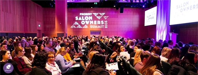 Phorest Salon Software's sold-out Salon Owner's Summit 2018 took place in Dublin, Ireland.Photo By Phorest Salon Software