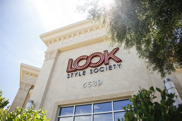 LOOK Style Society is located in an outdoor mall known as Town Square Las Vegas.