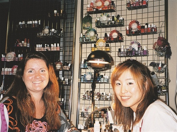 At Oriental Nail Co. in Tokyo, Japan.