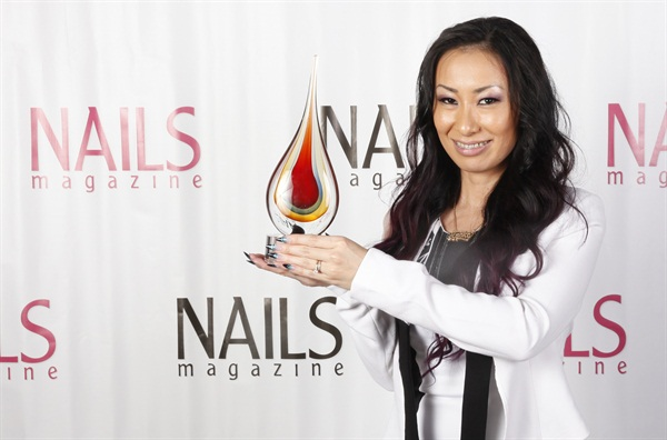 <p>Ryoko Garcia won NAILS Next Top Nail Artist sponsored by Gelish.</p>