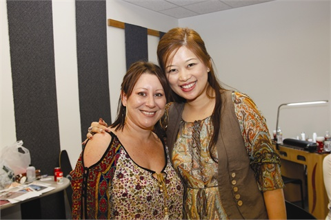Viv Simmonds and Catherine Wong teach classes all over the world as VivCat Designs.