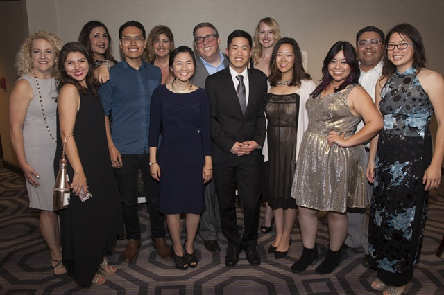 <p>The Bobit Business Media team at the Maggies.</p>