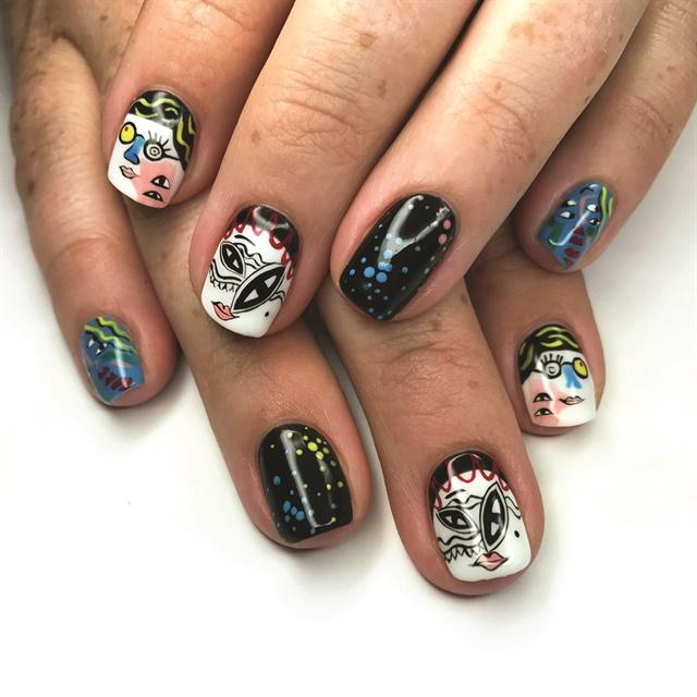 The artist behind bakeneko nails style nails magazine photo courtesy of piscesdreams prinsesfo Gallery
