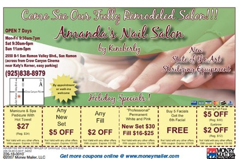 Coupons That Make the Cut - Business - NAILS Magazine