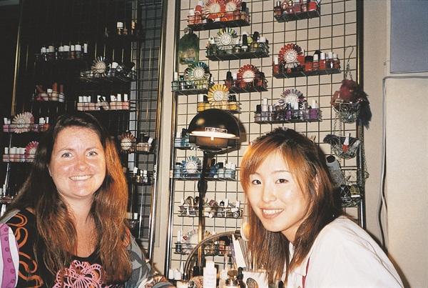 <p>At Oriental Nail Co. in Tokyo, Japan.</p>