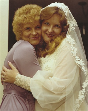 <p>Michele Baker (right) and Bonnie Vowell</p>