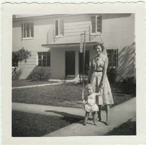 <p>Michele Baker and her mom Bonnie Vowell (right)</p>