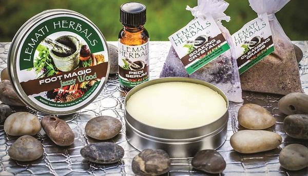 <p>Mind, Body, and Sole Organic Pedicure. Raw Earth Spa, Roseburg, Ore.</p>
