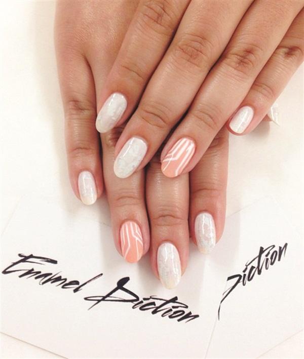 <p>Nail tech Fariha Ali (@nailjob) polished my nails in hues that manifest my career.</p>