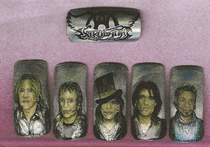 Nail artist Brenda Pattison has been fortunate enough to have shared her celebrity nail portraits with their subjects.