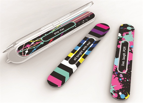 4-in-1 Catty Nail File & Case Color Pop Collection - Technique ...
