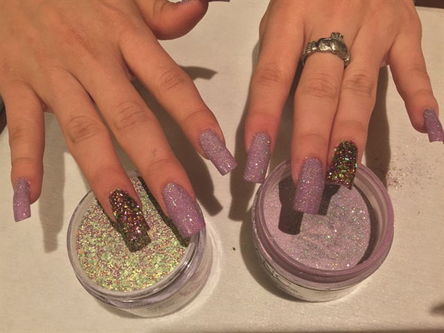 How to Apply Colored Dip Powders - Technique - NAILS Magazine