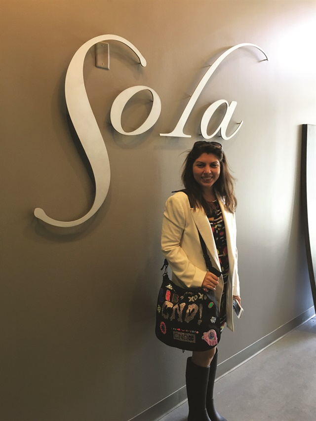 <p>Jewels is the first suite off the elevator, making it easy for Sola guests to find.</p>