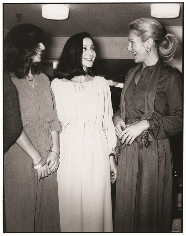 <p>Way back then ... As a young girl from Romania, Jessica Vartoughian (center) entered beauty scshool in the U.S. before she even spoke English. While there, she realized her love for natural nail care.</p>