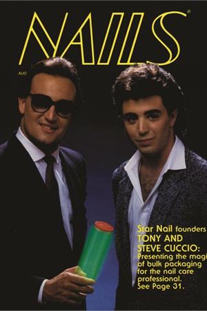 <p>Tony Cuccio and brother Steven graced NAILS' cover in 1985.</p>