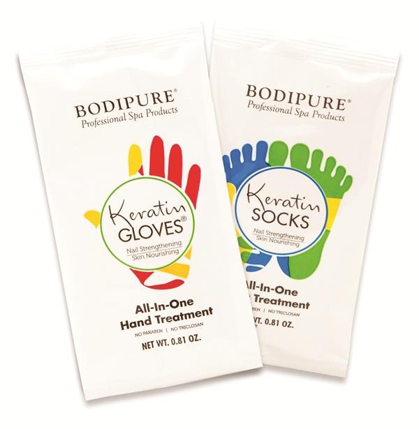Keratin Gloves & Socks - Technique - NAILS Magazine
