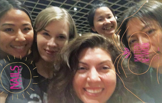 NAILS' first Snapchat filter was made for the Networking Event. We had to test it out, of course.