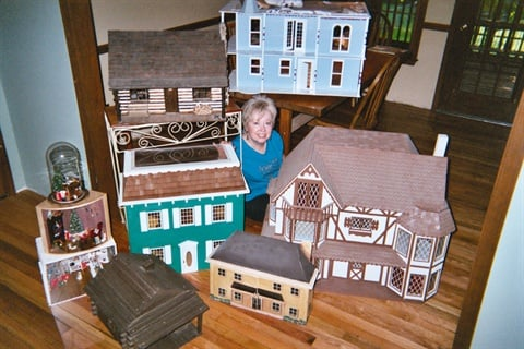 "<p>""Everything you can do to a real house you can do to a dollhouse nowadays.""</p>"