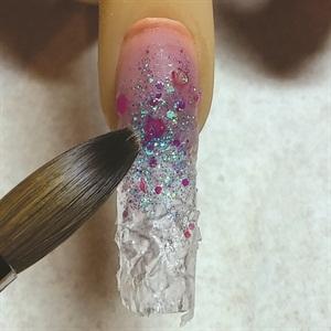 How To Glacier Nail Art