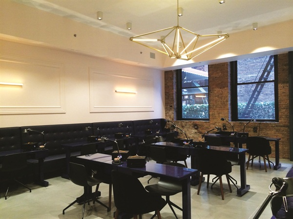 <p>Creative director Julie Kandalec hand-picked the staff of 18 nail techs (some part-time, some full-time) to work at the salon. </p>