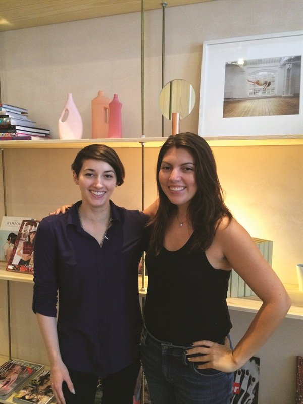 Kandalec recruited NTNA top four finalist Julie Ventura (left) after seeing her work in NAILS Magazine.