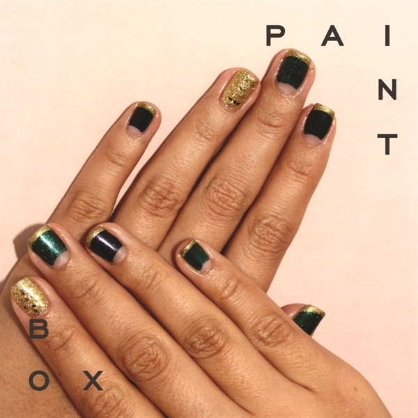 <p>My nail art design from the fall collection using Gelish, as uploaded by Paintbox's manicam. </p>