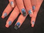 <p>Nail design byKristin Szilagyi (New Jersey)</p>