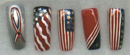 <p>Nail design byJo Laki (Pennsylvania)</p>