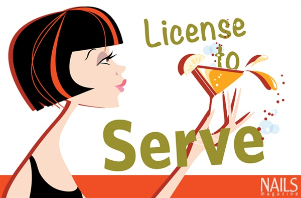 License to Serve: Alcohol in Nail Salons - Business - NAILS Magazine