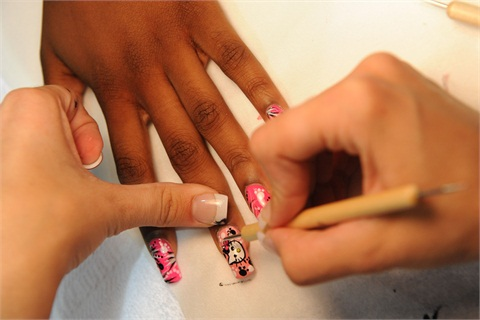<p>Nail art is one of six skills nail students are evaluated on.</p>