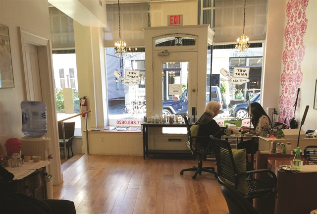 <p>While Wet Paint Nail Spa offers spa-quality services; it was intentionally created to have an open and welcome environment. Phoenix did not want the salon to be intimidating.</p>