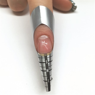 """<p>""""A gel nail is built in layers, similar to a stack of pancakes,"""" says Shannon McCown.</p>"""