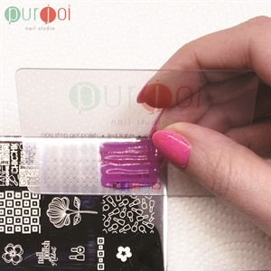 How To Use Purjoi Jumbo Clear Nail Art Stamper Style Nails Magazine