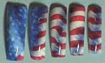 <p>Nail design by Ellen Torchia (Washington)</p>