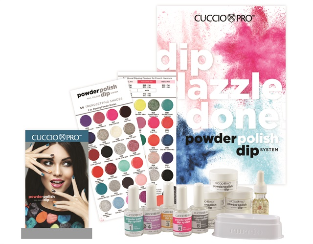 Cuccio Pro Powder Polish Nail Colour Dip System Technique Nails Magazine