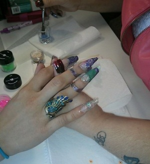 Elite prides itself on its gel and nail art curriculum.