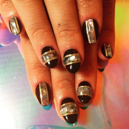 Here's one of my favorite manicures I've had, created by L.A.'s Nail Swag!