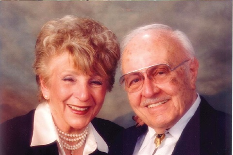 <p>Founder Maurice Minuto named the company after his wife Oland, both seen here in 1998.</p>