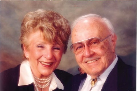 Founder Maurice Minuto named the company after his wife Oland, both seen here in 1998.