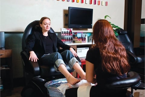<p>A stronger-than-anticipated pedicure business convinced Schaeffer to up the number of pedicure spa chairs at ROBJB.</p>